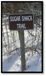 Picture of sugar shack trail